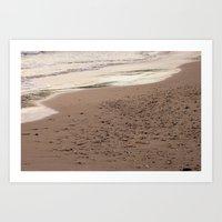 Beach Sand 7136 Art Print