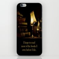 iPhone & iPod Skin featuring I Hope To Read Most Of T… by Brown Eyed Lady