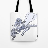 Happy Insect Helper  Tote Bag
