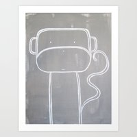 No. 0010 - Modern Kids A… Art Print