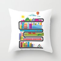 It's a new day. Throw Pillow