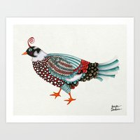 Pheasant Noble 2 Art Print