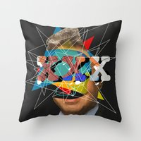xxx Alex Throw Pillow