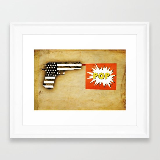 colt pop Framed Art Print