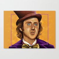 The Wilder Wonka Canvas Print