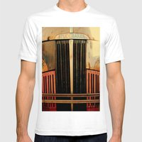 STUDEBAKER Mens Fitted Tee White SMALL