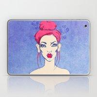 Selfie girl_3 Laptop & iPad Skin