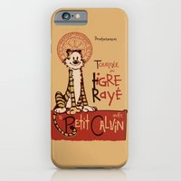 iPhone Cases featuring Le Tigre Rayé by Arinesart