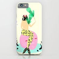mermaid iPhone & iPod Cases featuring mermaid by Alba Blázquez