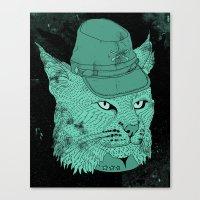 Bobcatfederate  Canvas Print