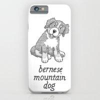 Dog Breeds: Bernese Mountain Dog iPhone 6 Slim Case