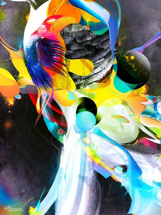 Vivid Reflections Art Print