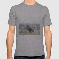 New York Pigeons Mens Fitted Tee Athletic Grey SMALL