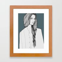 Nastya Framed Art Print