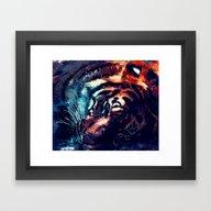 Tiger 2 Framed Art Print
