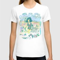 Beach Party Womens Fitted Tee White SMALL