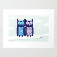 What a hoot! Art Print