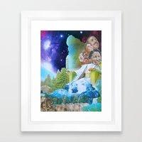 Prophecy of Intergalactic Understanding Framed Art Print