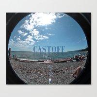 Castoff Canvas Print