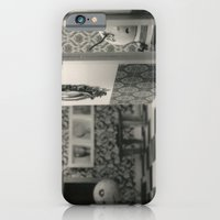 Hanging a painting fail - tim burton iPhone 6 Slim Case