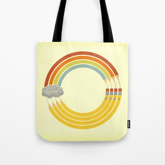 The Infinite Doodle Tote Bag
