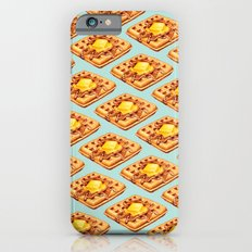 Waffle Pattern iPhone 6 Slim Case