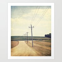 The Road To Dreams Art Print
