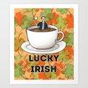 Irish Luck Art Print