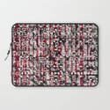 Linear Thinking Trip-Switch (P/D3 Glitch Collage Studies) Laptop Sleeve