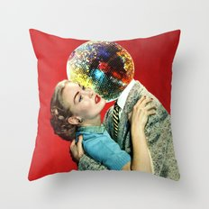 Discothèque Throw Pillow