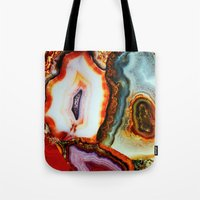 Agate, The Layers Of Our… Tote Bag