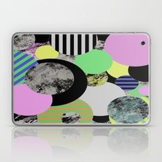 Cluttered Circles - Abstract, Geometric, Pop Art Style Laptop & iPad Skin