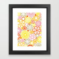 BOLD & BEAUTIFUL sunshine Framed Art Print