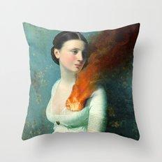 Portrait of a Heart  Throw Pillow