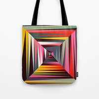 Retro Tunnel Tote Bag