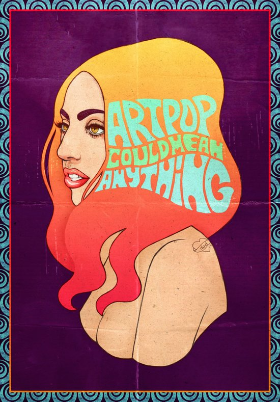 My ARTPOP Could Mean Anything Canvas Print