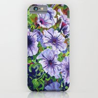 Purple Petunias  iPhone 6 Slim Case