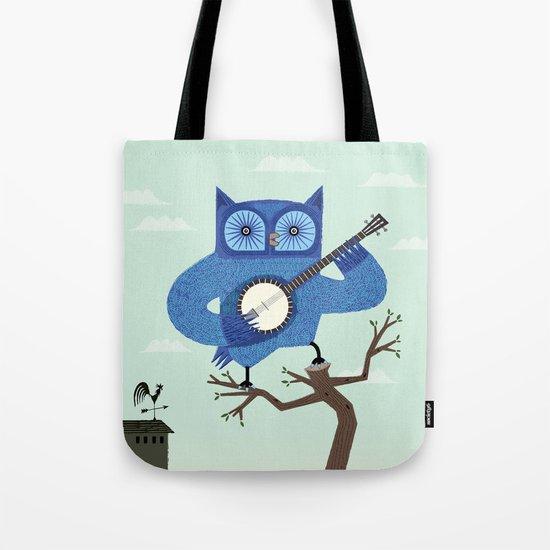 The Banjowl Tote Bag