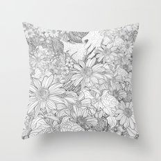 life in a day Throw Pillow