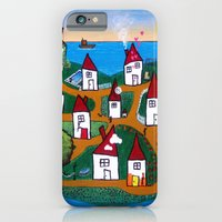 iPhone & iPod Case featuring Dream House Island by Joel Harris Studio