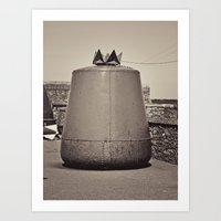 Old Maritime Buoy, Hook Head Co. Wexford, Ireland Art Print