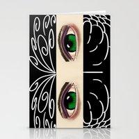 Reverse Masquerade Stationery Cards