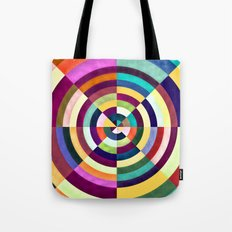 Playing Darts with Colours Tote Bag