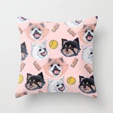 Pom Party Throw Pillow