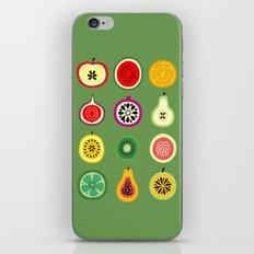 Banca de Frutas iPhone & iPod Skin