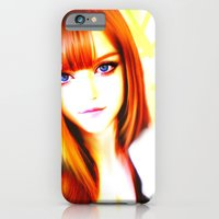 iPhone & iPod Case featuring GIRL by Ylenia Pizzetti