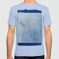 Genesis Mens Fitted Tee Athletic Blue SMALL