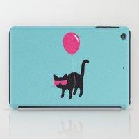 Cool Cat Travels Like Th… iPad Case