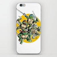 tartaruguitas iPhone & iPod Skin