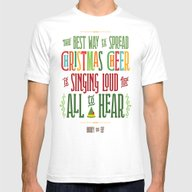 Buddy The Elf! The Best … Mens Fitted Tee White LARGE